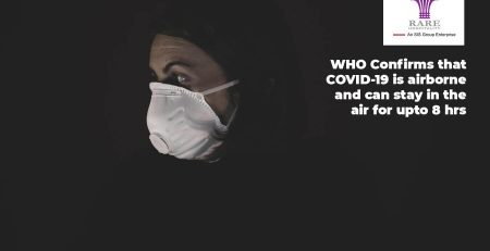 Airborne transmission of COVID-19 confirmed by WHO